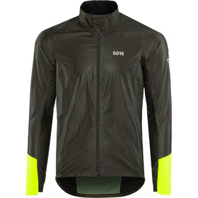 GORE WEAR C5 Gore-Tex Shakedry 1985 Vis Jas Heren, black/neon yellow